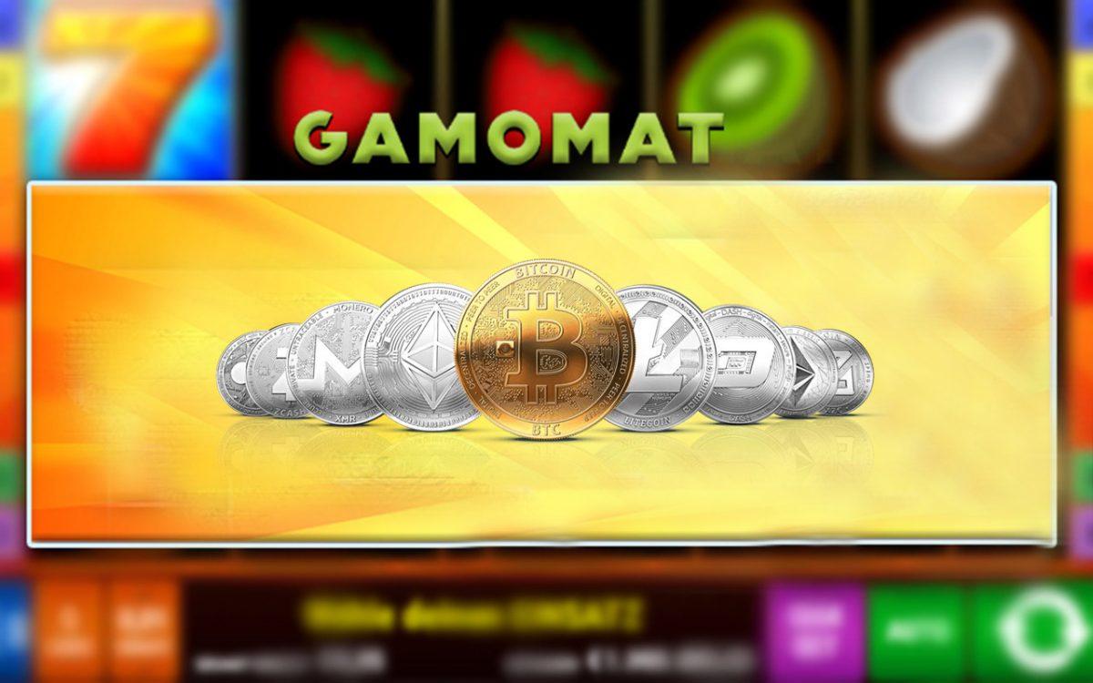 Gamomat Slots at Crypto friendly Casinos
