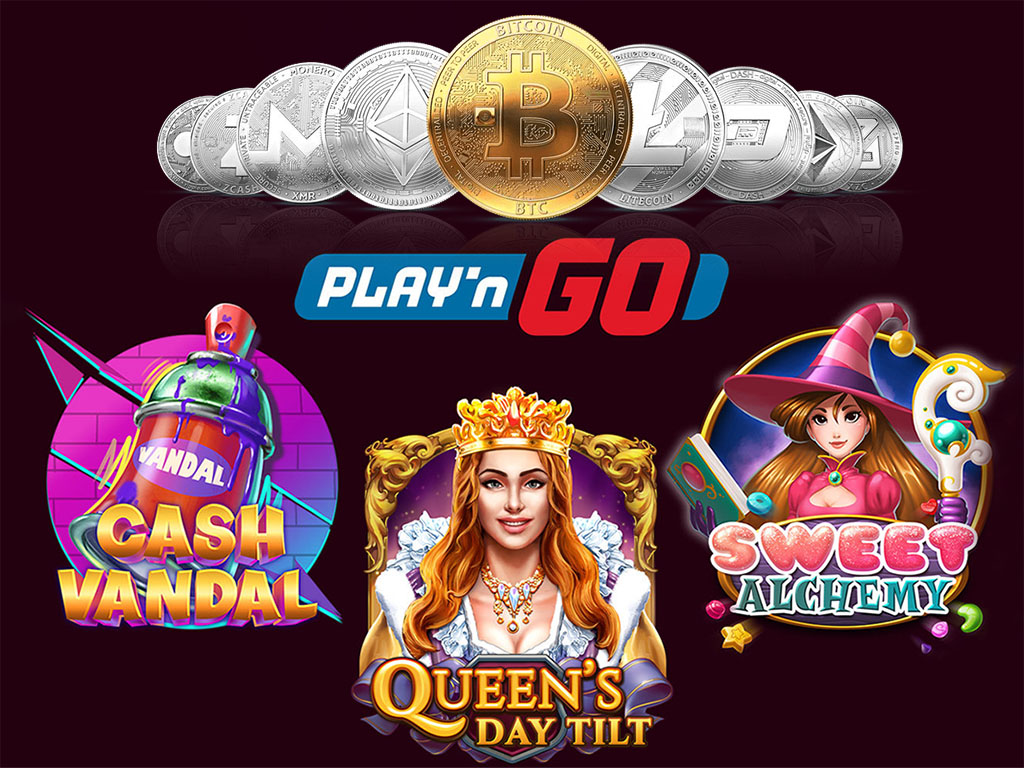 Crypto Casinos with PlayN Go Slot Games