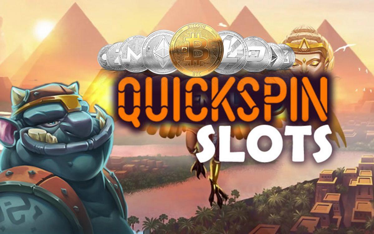 Crypto Casinos with Quickspin Slots