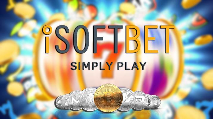 Crypto Casinos with iSoftBet Slotmachines